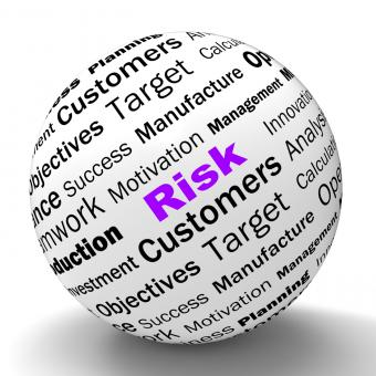 Free Stock Photo of Risk Sphere Definition Means Dangerous And Unstable