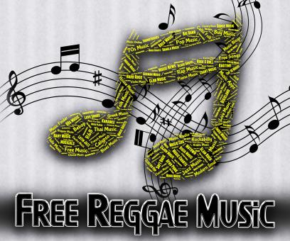 Free Stock Photo of Free Reggae Music Indicates For Nothing And Complimentary