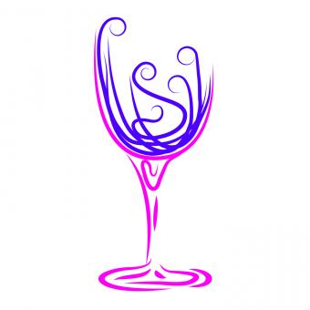 Free Stock Photo of Wine Glass Represents Winetasting Alcoholic And Celebrations