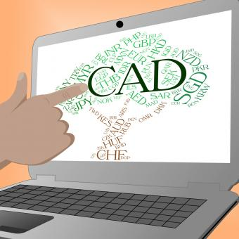 Free Stock Photo of Cad Currency Indicates Forex Trading And Currencies