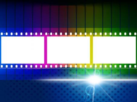 Free Stock Photo of Color Copyspace Means Negative Film And Blank
