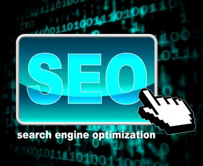 Free Stock Photo of Online Seo Represents World Wide Web And Optimization