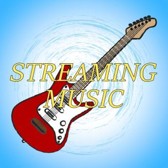 Free Stock Photo of Streaming Music Means Sound Track And Acoustic