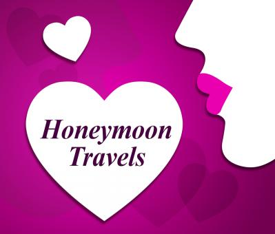 Free Stock Photo of Honeymoon Travels Means Destinations Vacational And Touring