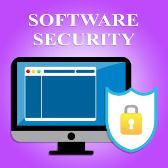 Free Stock Photo of Software Security Indicates Web Site And Application