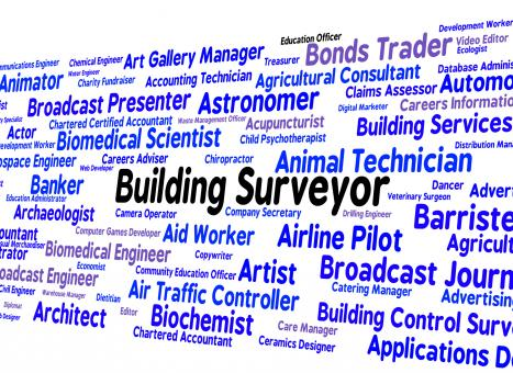 Free Stock Photo of Building Surveyor Indicates Position Occupations And Hire