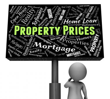 Free Stock Photo of Property Prices Represents Real Estate And Apartments
