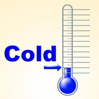 Free Stock Photo of Cold Thermometer Indicates Thermostat Freeze And Freezing