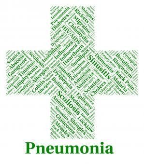 Free Stock Photo of Pneumonia Illness Represents Poor Health And Ailment