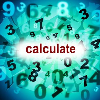 Free Stock Photo of Calculation Mathematics Represents One Two Three And Maths