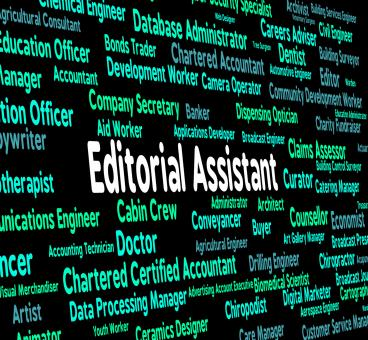Free Stock Photo of Editorial Assistant Represents Subordinate Occupations And Edits