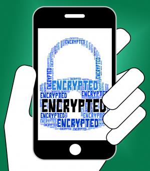 Free Stock Photo of Encrypted Word Means Encryption Words And Password