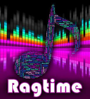 Free Stock Photo of Ragtime Music Means Sound Tracks And Audio