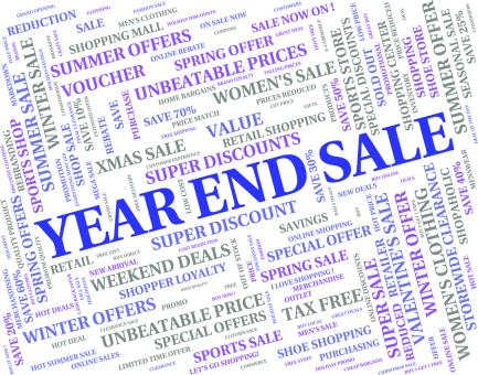 Free Stock Photo of Year End Sale Represents Retail Clearance And Discount