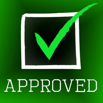 Free Stock Photo of Approved Tick Represents Correct Assurance And Approval