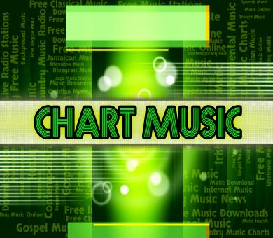Free Stock Photo of Music Charts Means Best Sellers And Albums