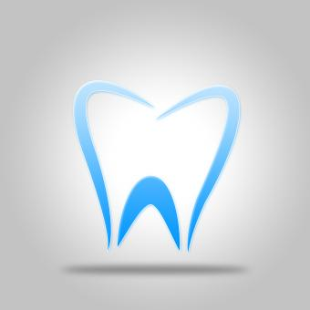 Free Stock Photo of Tooth Icon Shows Dentist Icons And Dentistry