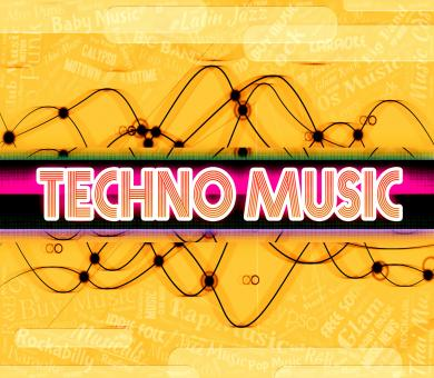 Free Stock Photo of Techno Music Shows Electric Jazz And Audio