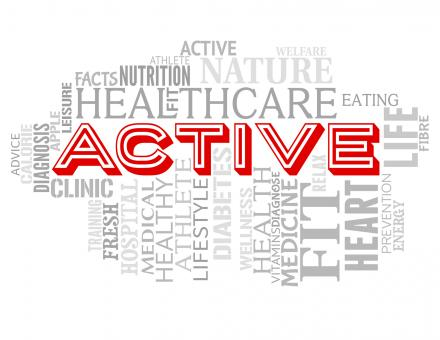 Free Stock Photo of Active Words Indicates Getting Fit And Lively