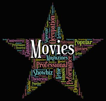 Free Stock Photo of Movies Star Indicates Motion Picture And Film