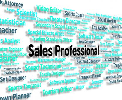 Free Stock Photo of Sales Professional Shows Expertise Selling And Promotion