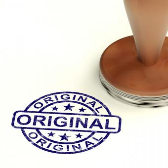 Free Stock Photo of Original Stamp Showing Genuine Authentic Products