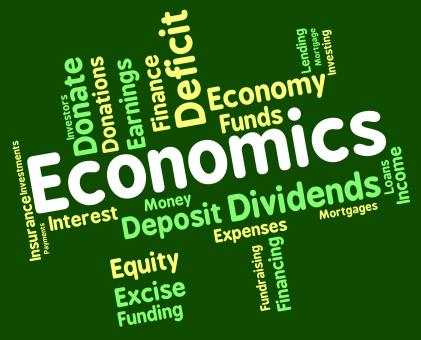 Free Stock Photo of Economics Word Shows Finance Fiscal And Economical