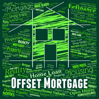 Free Stock Photo of Offset Mortgage Indicates Home Loan And Borrowing