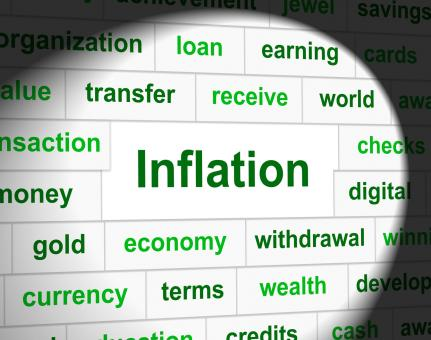 Free Stock Photo of Finance Inflation Represents Economic Profit And Increase