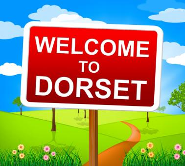 Free Stock Photo of Welcome To Dorset Shows United Kingdom And Outdoor