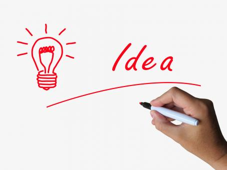 Free Stock Photo of Idea and Lightbulb Indicate Bright Ideas and Concepts
