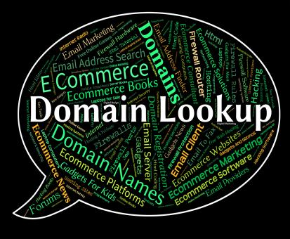 Free Stock Photo of Domain Lookup Means Researcher Dominion And Search