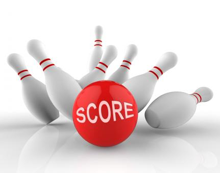 Free Stock Photo of Bowling Score Means Ten Pin And Activity 3d Rendering