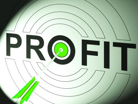 Free Stock Photo of Profit Shows Business Success In Trading