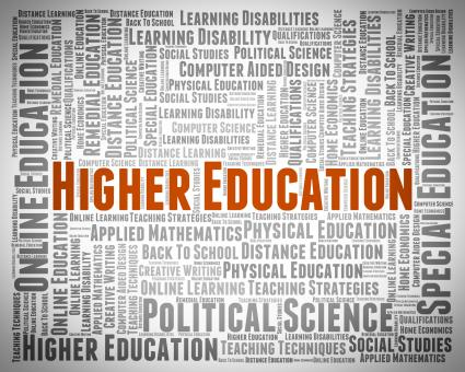 Free Stock Photo of Higher Education Shows Educated Learning And Studying