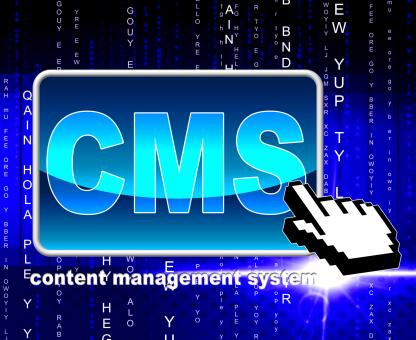 Free Stock Photo of Content Management System Indicates World Wide Web And Internet