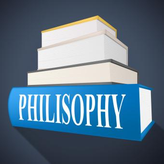 Free Stock Photo of Philosophy Book Shows Non-Fiction Morality And Reasoning