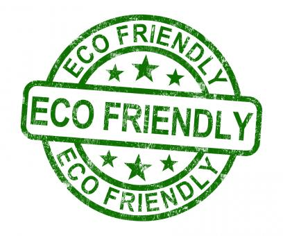Free Stock Photo of Eco Friendly Stamp As Symbol For Recycling