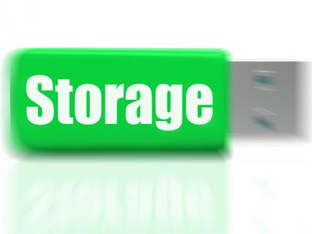 Free Stock Photo of Storage USB drive Shows Data Backup Or Warehousing