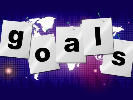 Free Stock Photo of Goals Targets Indicates Aspirations Objectives And Forecast