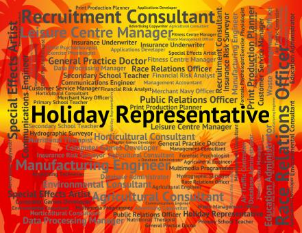Free Stock Photo of Holiday Representative Shows Go On Leave And Career