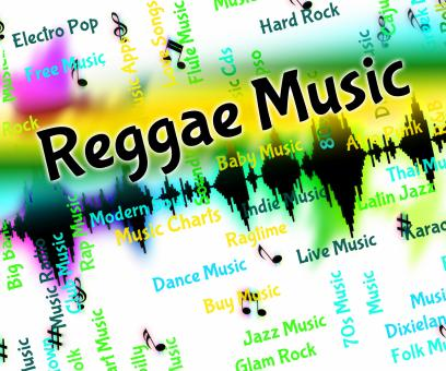 Free Stock Photo of Reggae Music Means Sound Tracks And Calypso