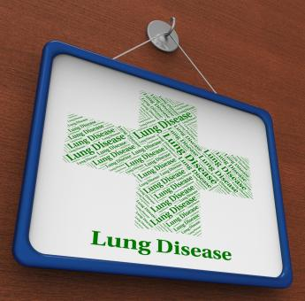 Free Stock Photo of Lung Disease Shows Poor Health And Affliction