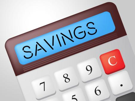 Free Stock Photo of Savings Calculator Indicates Cash Increase And Wealth