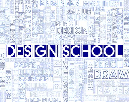 Free Stock Photo of Design School Means Artwork Studying And College