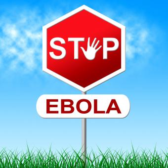Free Stock Photo of Ebola Stop Means Warning Sign And Danger