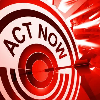 Free Stock Photo of Act Now Means To Take Quick Action