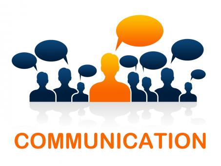 Free Stock Photo of Communication Team Represents Group Communicate And Conversation