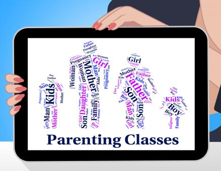 Free Stock Photo of Parenting Classes Means Mother And Baby And Child