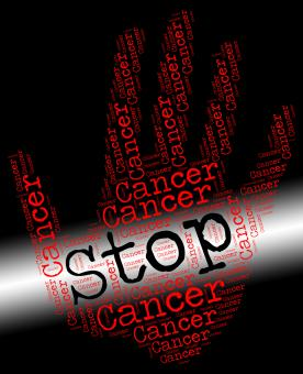 Free Stock Photo of Stop Cancer Means Warning Sign And Cancerous